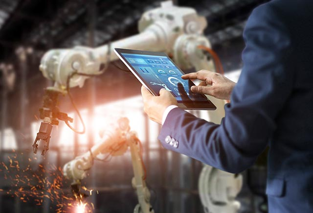 Rearranging the Manufacturing Scenario with RPA