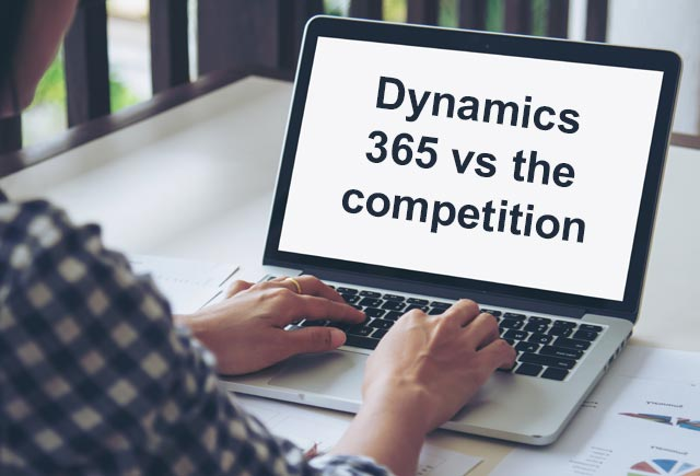 Dynamics 365 vs. the competition: A deep-drive into its features and facts